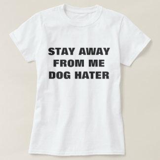 Camiseta del amante del perro de las mujeres