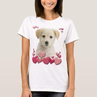 Camiseta del amor adolescente