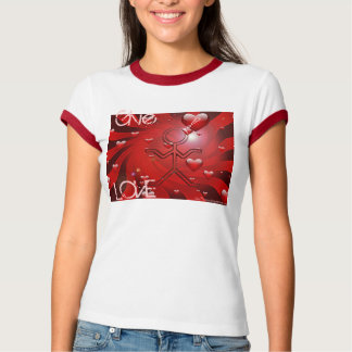 "Camiseta del amor de Clio ""dé"""