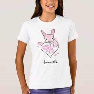 Camiseta del amor del conejito