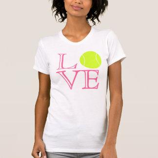 Camiseta del amor del tenis