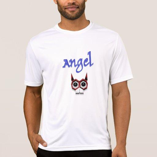 camiseta del ángel 3d
