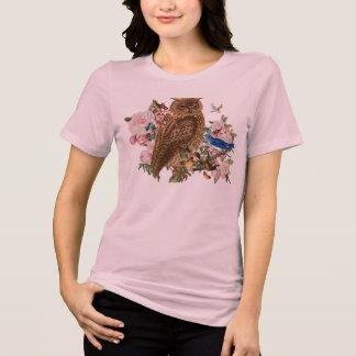Camiseta del animal del alcohol del búho