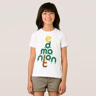 Camiseta del árbol de Edmonton del navidad