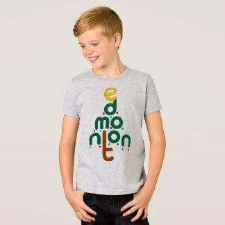 Camiseta del árbol de navidad de Edmonton