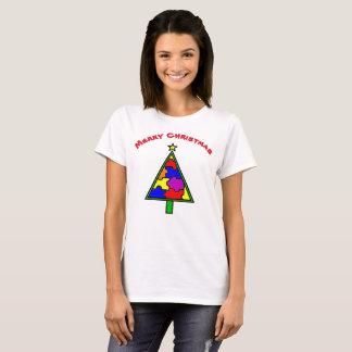Camiseta del árbol del autismo de las Felices