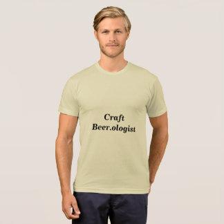 Camiseta del arte Beer.ologist