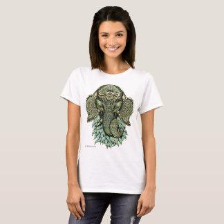 Camiseta del arte de Ganesha de dios de las