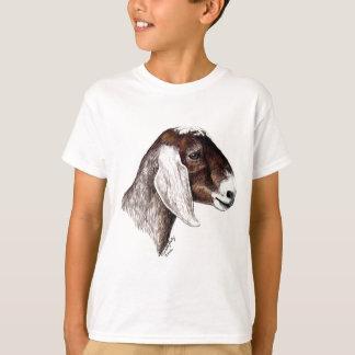 Camiseta del arte de la cabra de Nubian