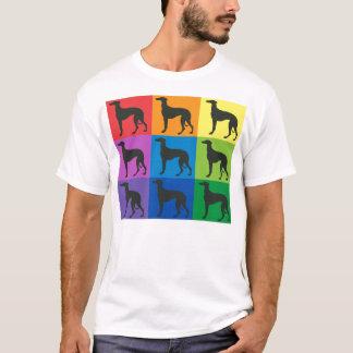 Camiseta del arte del galgo