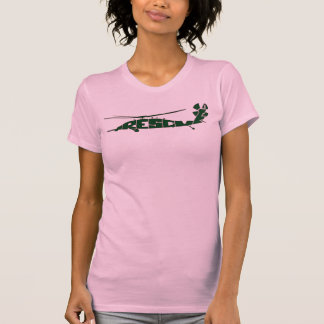 Camiseta del arte del texto del rescate del