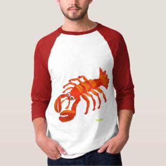 Camiseta del arte: Langosta roja grande