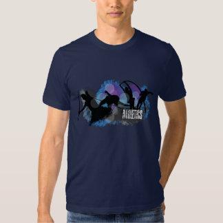 Camiseta del atletismo