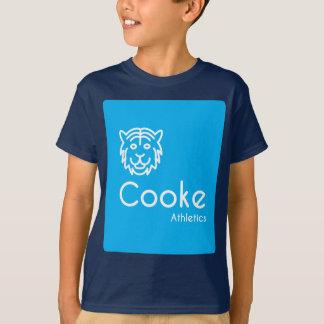 Camiseta del atletismo de Cooke de los NIÑOS,