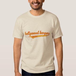 Camiseta del atletismo de la hamburguesa de
