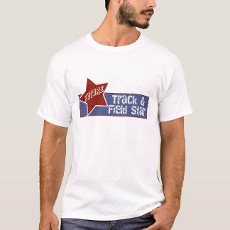 Camiseta del atletismo de los niños