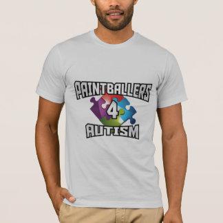 Camiseta del autismo de Paintballers 4