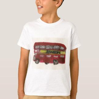 Camiseta del autobús de Londres para los niños