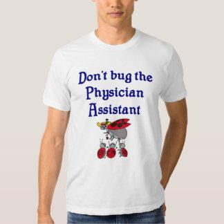 Camiseta del ayudante del médico