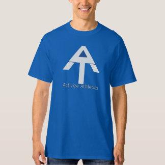 Camiseta del azul del atletismo de Activize