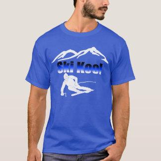Camiseta del azul real de Kool del esquí