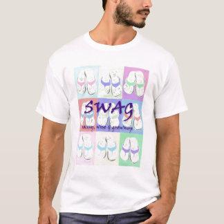 Camiseta del balanceo del SWAG en pasteles
