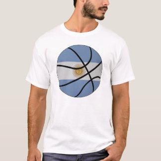 Camiseta del baloncesto de la Argentina