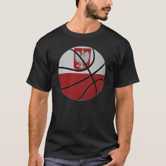 Camiseta del baloncesto de Polonia