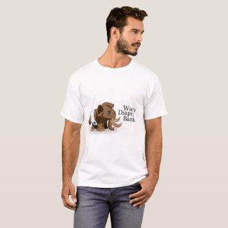 Camiseta del banco del pañal de Waco de los