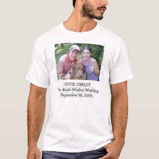 Camiseta del banquete de boda