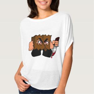 Camiseta del Batwing del saco (mujeres)