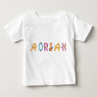 Camiseta del bebé de Adrian