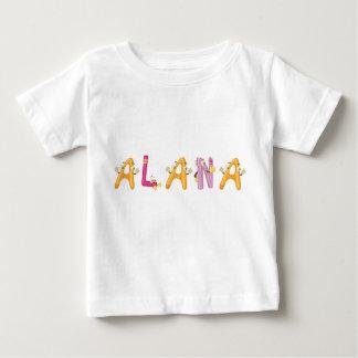 Camiseta del bebé de Alana