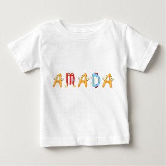 Camiseta del bebé de Amada