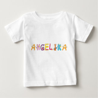 Camiseta del bebé de Angélica