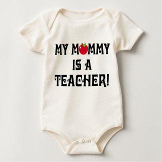 Camiseta del bebé de Apple de la escuela de la