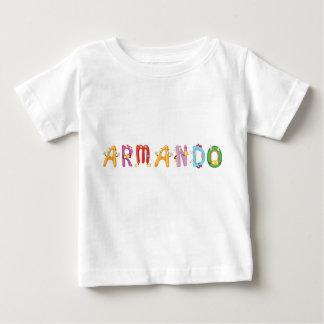 Camiseta del bebé de Armando