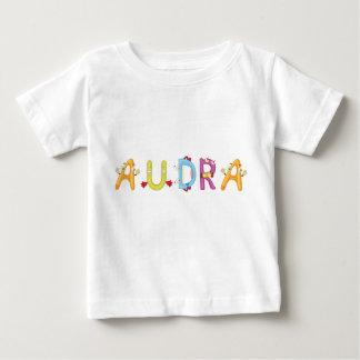 Camiseta del bebé de Audra