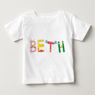 Camiseta del bebé de Beth