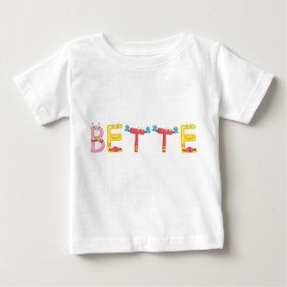 Camiseta del bebé de Bette