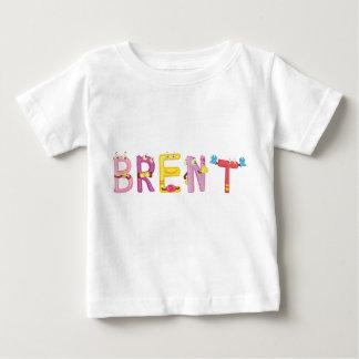 Camiseta del bebé de Brent