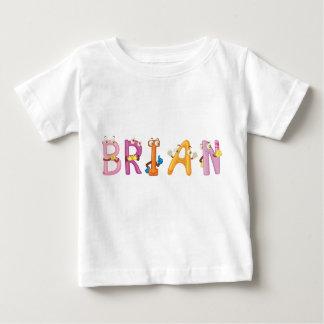 Camiseta del bebé de Brian