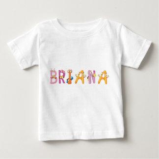 Camiseta del bebé de Briana