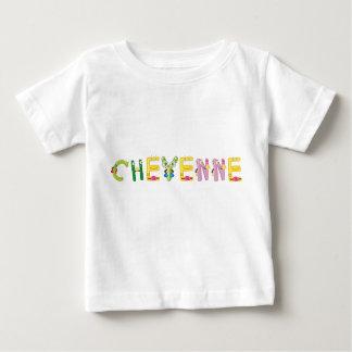 Camiseta del bebé de Cheyenne