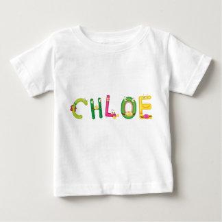 Camiseta del bebé de Chloe