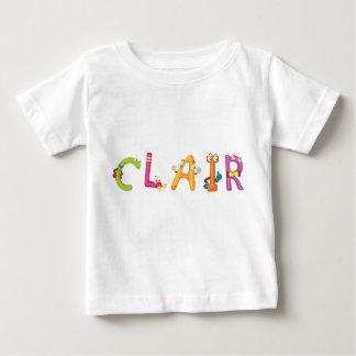 Camiseta del bebé de Clair