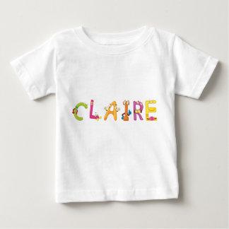 Camiseta del bebé de Claire