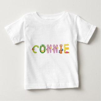 Camiseta del bebé de Connie