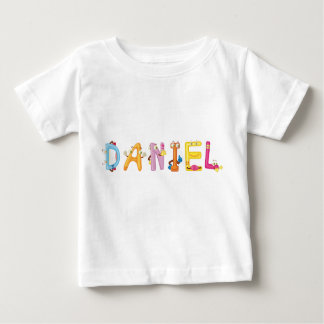Camiseta del bebé de Daniel