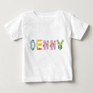 Camiseta del bebé de Denny